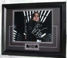 "FJSWEBF Felicity Jones - ""Star Wars"" signed"